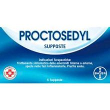 Proctosedyl 6 Supposte 013868043 Antiemmorroidari