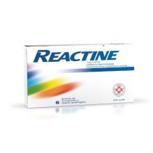 REACTINE*6CPR 5MG+120MG RP Farmaci Antistaminici