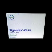 RIGENTEX*30CPS MOLLI 400UI Tonici, vitaminici e sali minerali