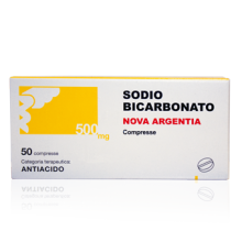 SODIO BICARB*50CPR 500MG Antiacidi