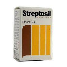 STREPTOSIL NEOMICINA*POLV 10G Lozioni e polveri per la pelle