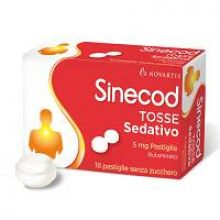Sinecod Tosse Sedativo 18 Pastiglie 5 mg 021483096 Farmaci Per La Tosse Secca