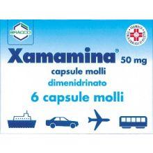 Xamamina 6 Capsule 50 mg Mal D'Auto 002955060  Antinausea