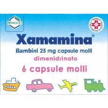 Xamamina 6 Capsule Bambini 25 mg 002955108 Antinausea