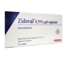 ZIDOVAL* GEL VAGINALE 40G 0,75%+ 5 APPLICATORI Creme vaginali