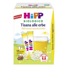 HIPP BIO TISANA ERBE 5,4G Tisane per bambini