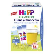 HIPP BIO TISANA FINOCCHIO 5,4G Tisane per bambini