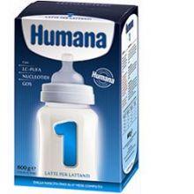 Humana 1 Latte Per Lattanti Con LCP - GOS - Nucleotidi 800 g codice 932028943 Latte per bambini
