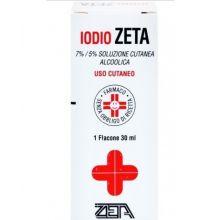 Iodio Zeta Soluzione alcolica 30ml 7%/5% Disinfettanti per la cute