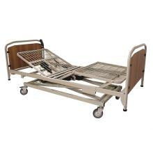 Letto A Due Manovelle Con Base Regolabile In Altezza Con Ruote Letti e accessori ortopedici