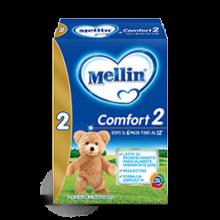 Mellin Comfort 2 Polvere 600 g Latte per bambini