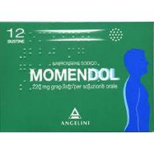 Momendol 12 Bustine 220 mg 025829122 Farmaci Antinfiammatori