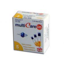 Multicare In Trigliceridi 5 Strisce Misuratori di colesterolo e trigliceridi