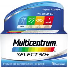 Multicentrum Select 50+ 90 Compresse Multivitaminici