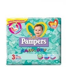 Pannolini Pampers Baby Dry Down Midi Taglia 3 20 Pezzi 927135638 Pannolini