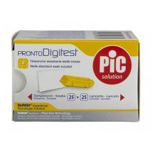 PIC Digitest Lancette 32G 25 Pezzi Lancette pungidito