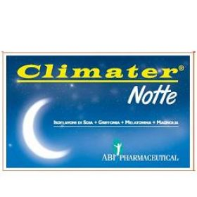 Climater Notte 20 Compresse Menopausa