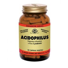 Acidophilus Solgar 50 Capsule Vegetali Fermenti lattici