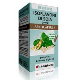 ISOFLAVONI DI SOYA 70MG 40 CAPSULE  Menopausa