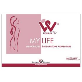 Donna W My Life Menopause 2x15 Compresse Menopausa