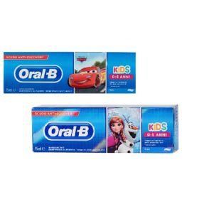 Oral-B Dentifricio Kids Cars&Frozen 0-5 Anni 75ml 1 pezzo Dentifrici