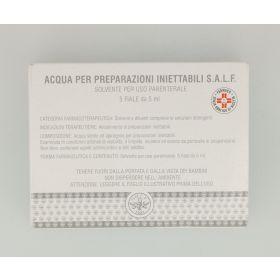 Acqua per Preparazioni Iniettabili Salf 5 fiale 2ml Soluzioni fisiologiche