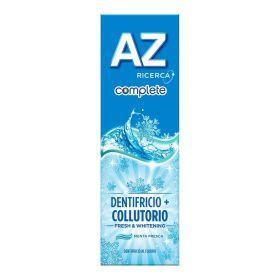 AZ Complete Fresh & Whitening Dentifricio + Colluttorio 75ml Dentifrici