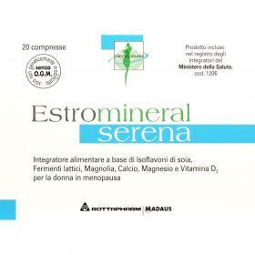Estromineral Serena 20 Compresse Menopausa