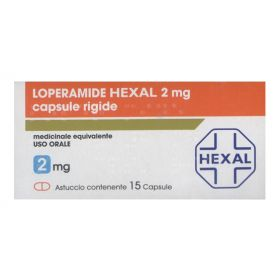 Loperamide Hexal 15 Capsule 2 mg